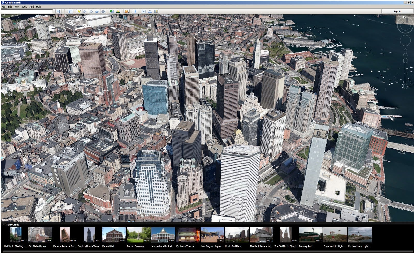 Google Earth 7 Brings 3d Images To Desktop Computers