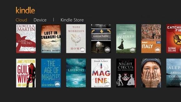 Amazon Kindle app Windows 8 1