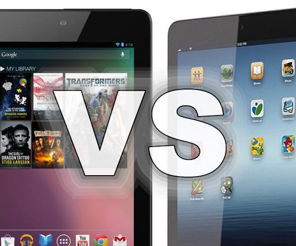 Google Nexus 7 vs iPad mini