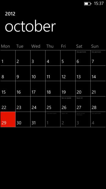 Windows Phone 8 7