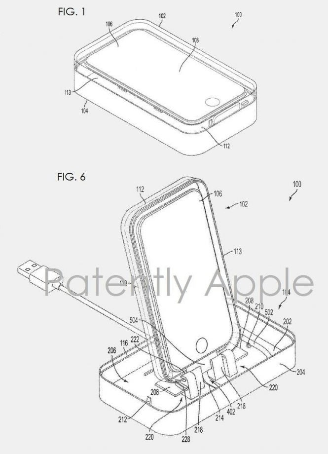 Apple Patents Packaging To Double As An Iphone Dock