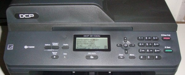 how to set brother mfc-j6530 to default to document feeder