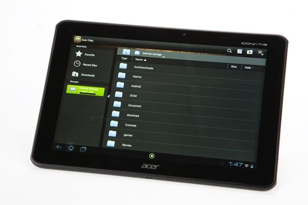 acer iconia tab a700 review trusted reviews rh trustedreviews com Acer Aspire V5 User Manual Acer Aspire One User Guide