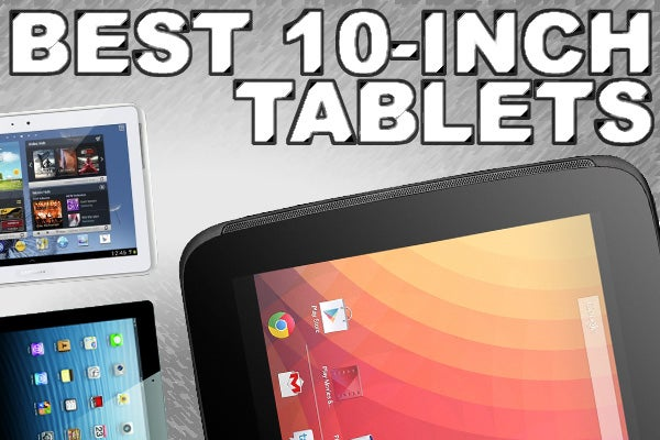 5 Best 10 Inch Tablets For Christmas 2012 Trusted Reviews