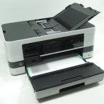 Brother MFC-4510DW - Tray and Card Slots