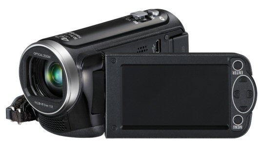 panasonic hc v100 review trusted reviews rh trustedreviews com How Far Is 42X Optical Zoom Panasonic HDD 42X Optical Zoom