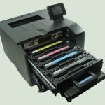 HP LaserJet Pro 200 Color M251nw - Cartridges