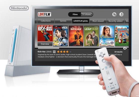 Amazon LoveFilm Instant Nintendo Wii app
