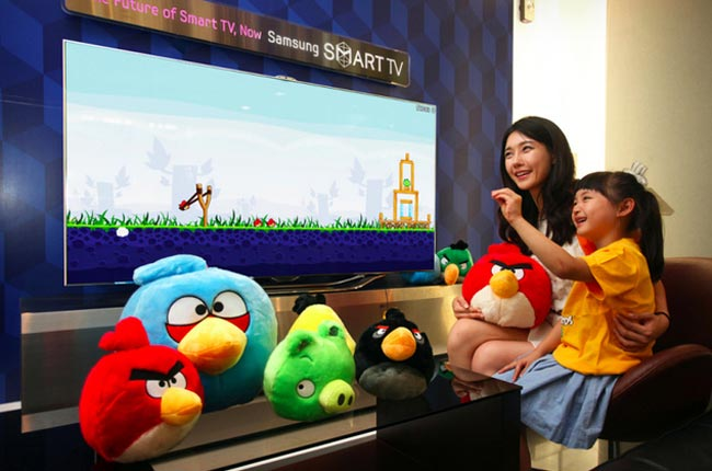 angry birds on tv