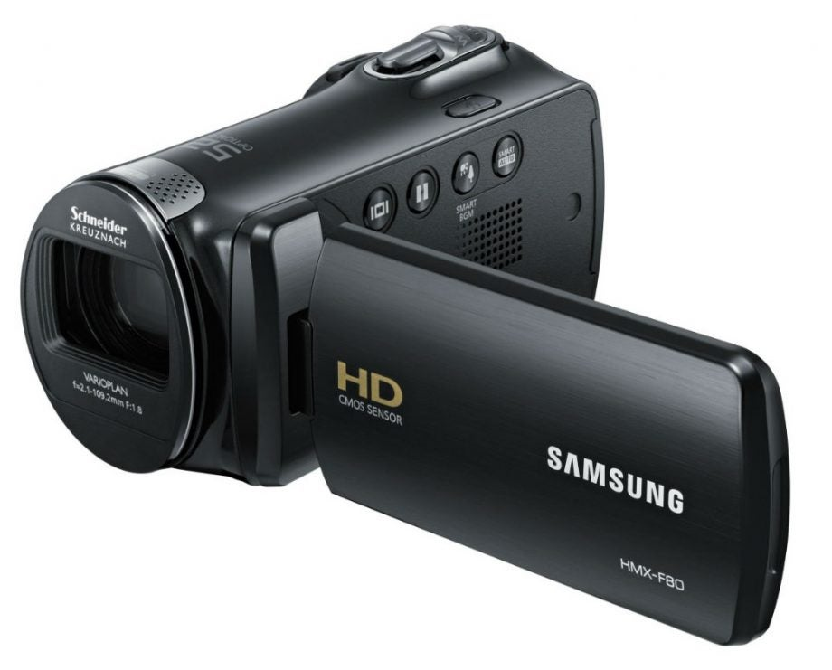 samsung hmx f80bp review trusted reviews rh trustedreviews com Samsung Hyper Dis 65X Manual Samsung Hyper Dis 65X Manual