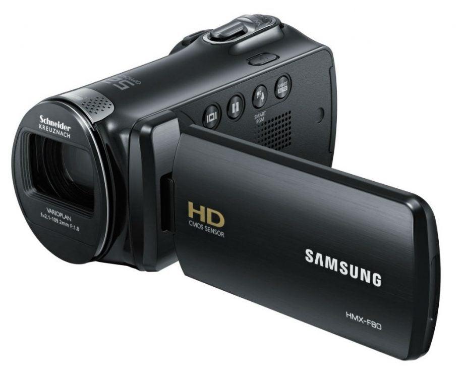 samsung hmx f80bp review trusted reviews rh trustedreviews com Samsung Digital Camcorder Charger Samsung Digital Camcorder Charger
