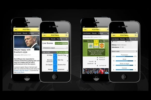 Bbc Sport App Out Now On Iphone Trusted Reviews