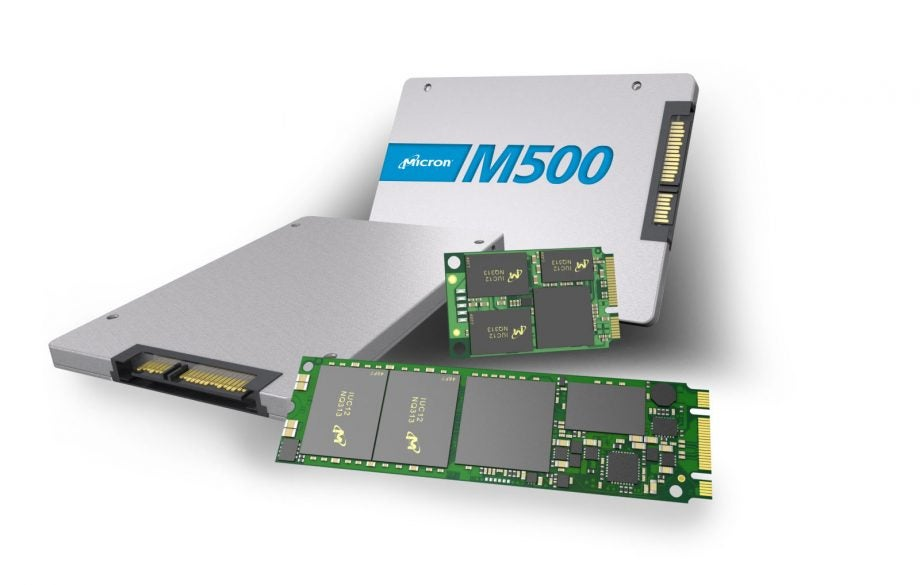 Crucial M500 SSD collection