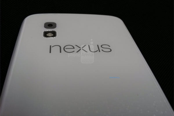 White Google Nexus 4