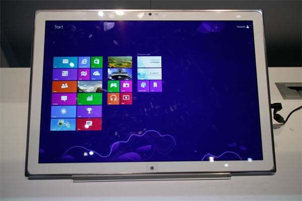 Panasonic 20-inch 4K tablet