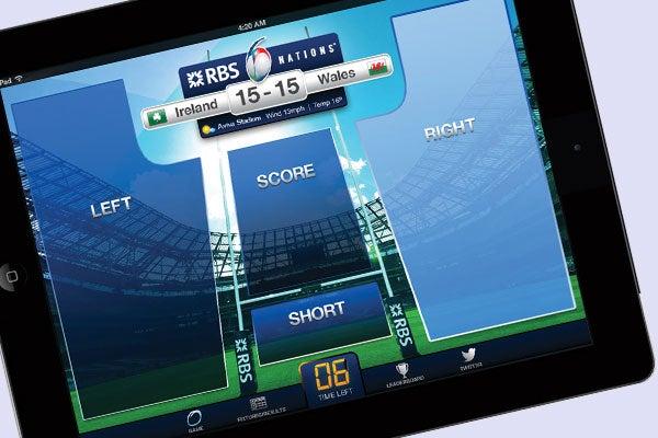 RBS 6 Nations Live Challenge app