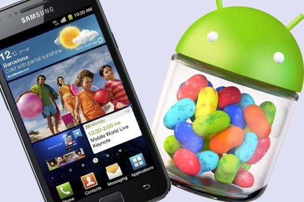 Samsung Galaxy S II Jelly Bean 4.1.2 upgrade