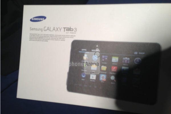 Samsung Galaxy Tab 3 pictures leak