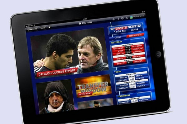 Sky Sports on Now TV