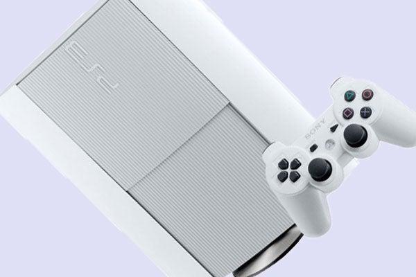 White PS3 Slim