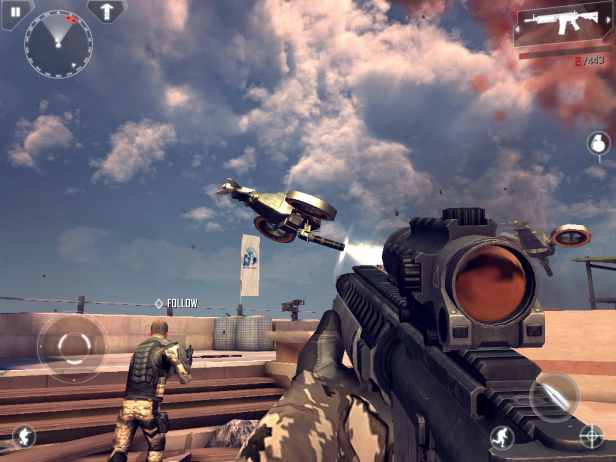 Modern combat 4 zero hour apk for android 7 0 | Download Modern