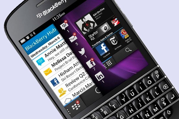 BlackBerry Q10 release date confirmed for April | Trusted