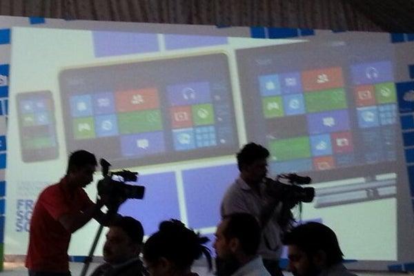 Nokia Lumia tablet spotted at Pakistan Nokia event
