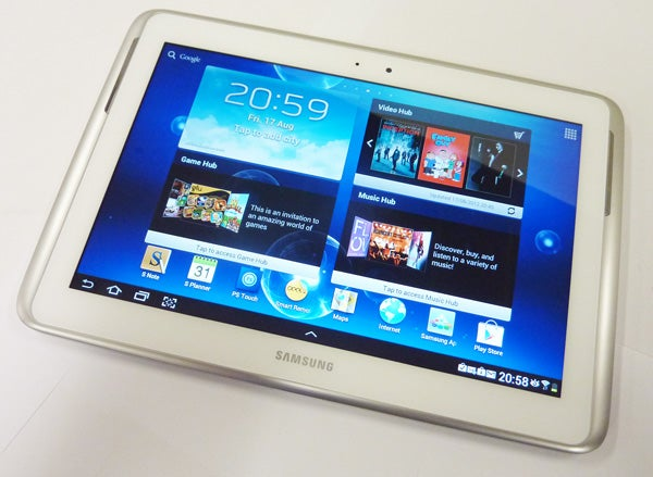 Samsung Galaxy Note 10 1 Review Trusted Reviews