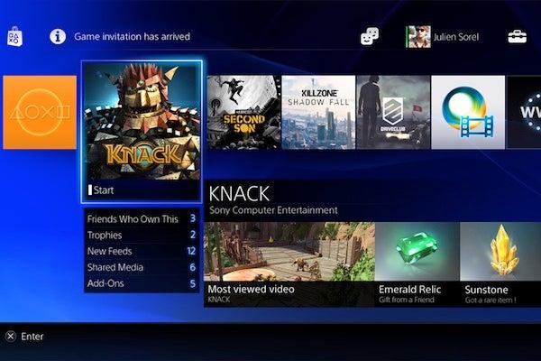 PS4 download