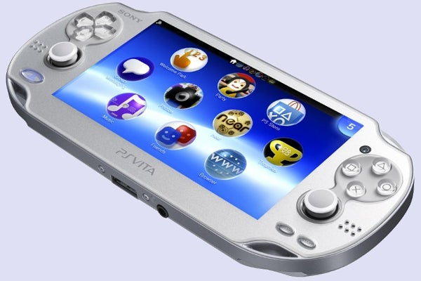 Sony PlayStation Vita Ice Silver edition