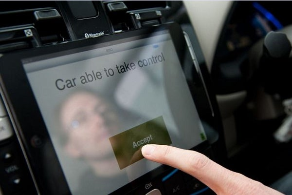 The Oxford RobotCar UK Project iPad interface