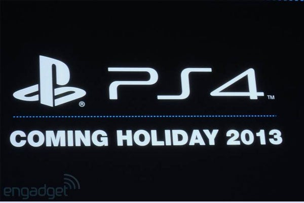 Sony PS4 Release Date