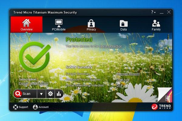 Trend Micro Titanium Maximum Security 2013 - With Skin