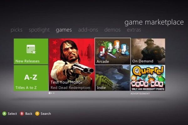 Xbox 360 Game Marketplace