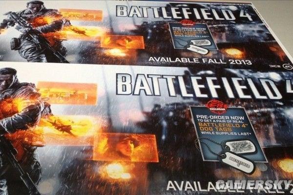 Battlefield 4 release date leak