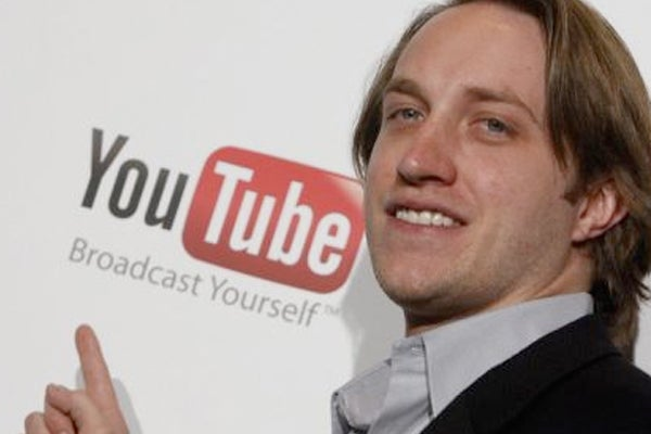 Chad Hurley is a former YouTube CEO