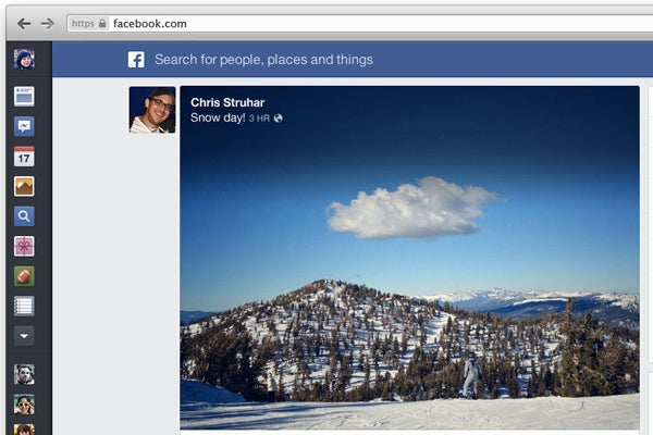 Facebook's new News Feed revealed