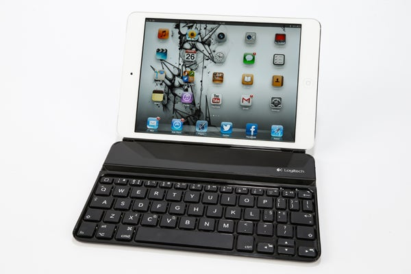 logitech ultrathin keyboard cover for ipad mini review trusted reviews rh trustedreviews com Logitech Ultrathin Keyboard Mini Space Logitech Keyboard for iPad 4