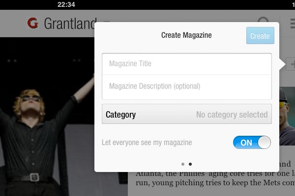Flipboard now allows users to curate their own magazines