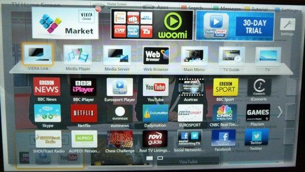 panasonic tv apps