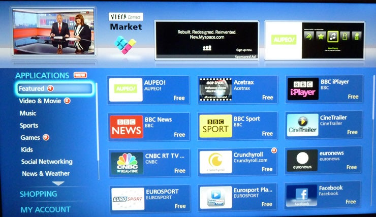 Panasonic My Home Screen Smart TV interface Review | Trusted
