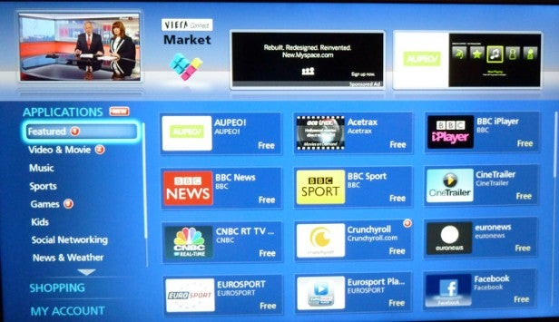 Panasonic My Home Screen Smart Tv Interface Ease Of Use
