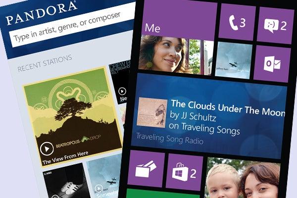 Pandora Windows Phone 8 app
