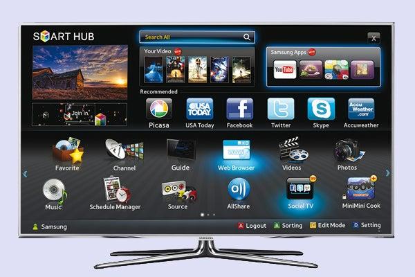 samsung smart tvs now have 4od app trusted reviews. Black Bedroom Furniture Sets. Home Design Ideas