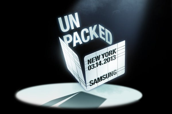 Samsung Galaxy S4 launch poster
