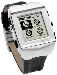 Fossil Palm PDA Watch