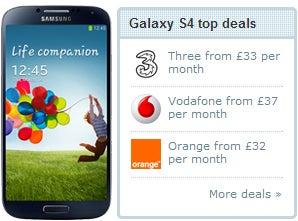Samsung Galaxy S4 Deals