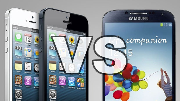 Samsung Galaxy S4 vs iPhone 5 | Trusted Reviews