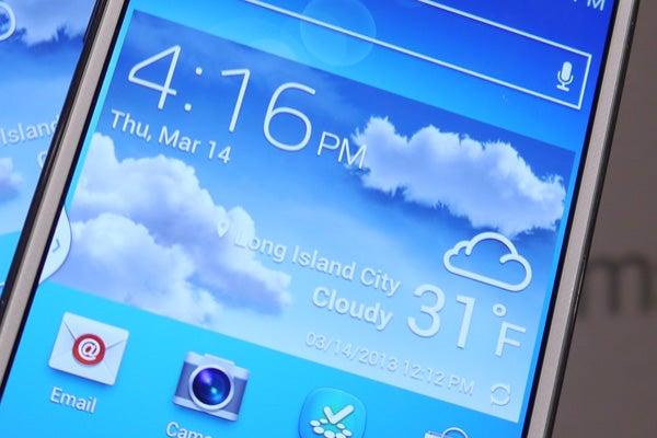 Galaxy S4 TouchWiz