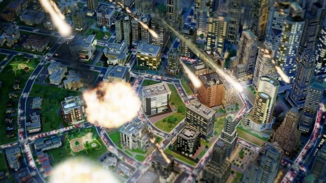 simcity disaster